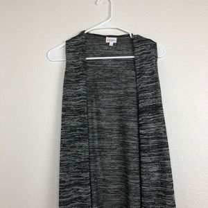 Lularoe marled  gray duster joy cardigan